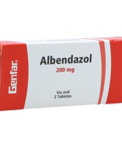 55210-1-ALBENDAZOL-200MG-TAB-CAJ-X-2-GENFAR Mispastillas.com