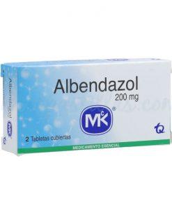 0575-Albendazol-200-mg-2-Tab-MK-mispastillas-tienda-pastillas-medellin-colombia